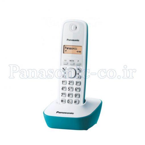 تلفن بیسیم پاناسونیک مدل KX-TG1611 یا 1611 رنگ سفید
