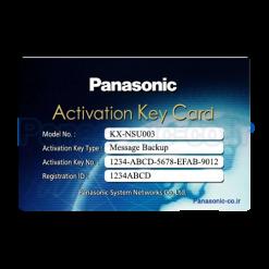 قیمت خرید لایسنس بکاپ گیری سانترال NS پاناسونیک KX-NSU003 فروشگاه اینترنتی پاناسونیک ایرانیان